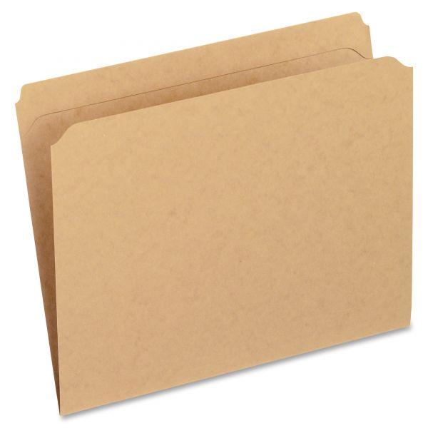 Pendaflex Two-Ply Dark Kraft Colored File Folders