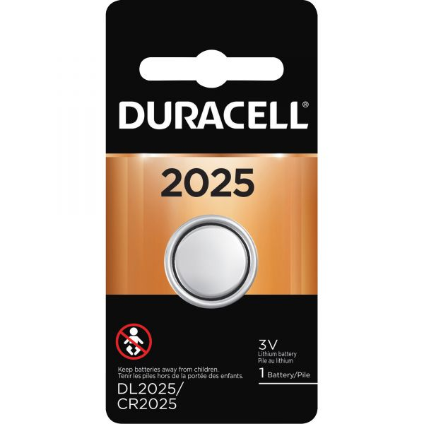 Duracell Button Cell Lithium Battery, 2025