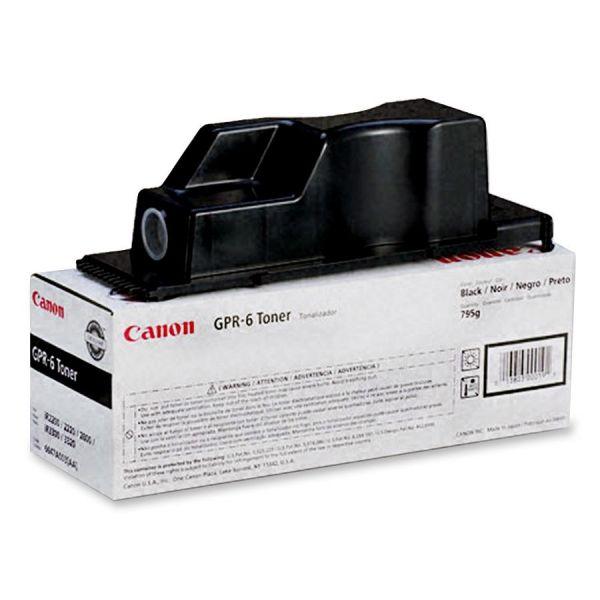 Canon GPR-6 Black Toner Cartridge (6647A003AA)