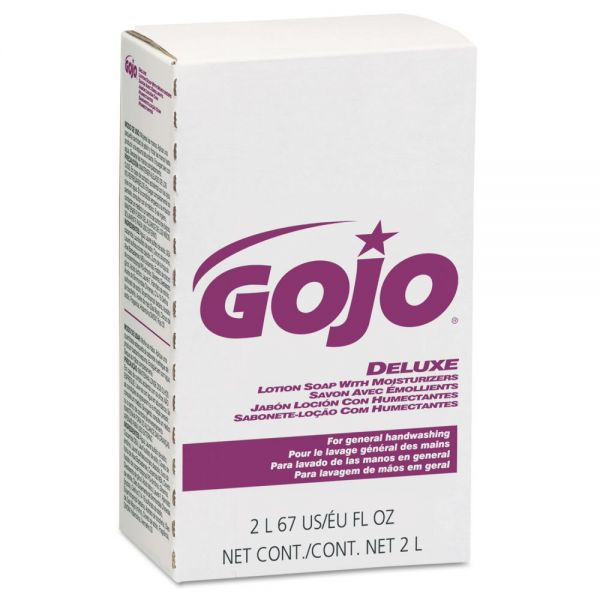 GOJO NXT Deluxe Moisturizing Lotion Soap Refills