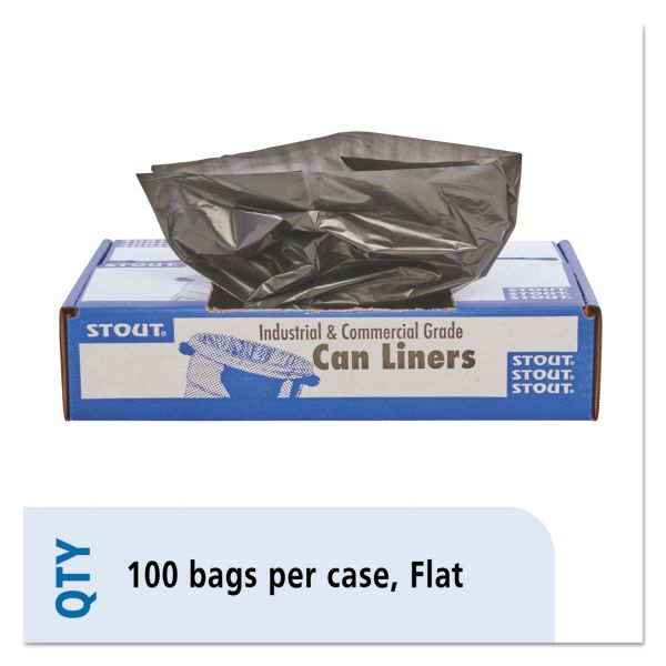 Stout 100% Recycled 33 Gallon Trash Bags
