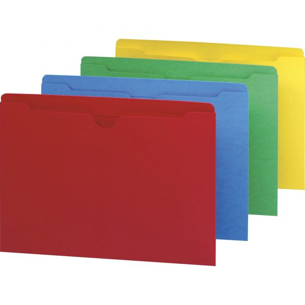 Smead 75613 Assortment Colored File Jackets
