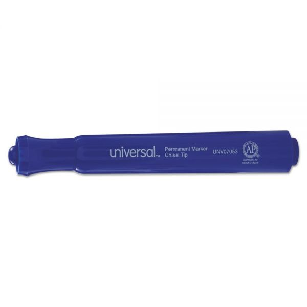 Universal Blue Permanent Markers