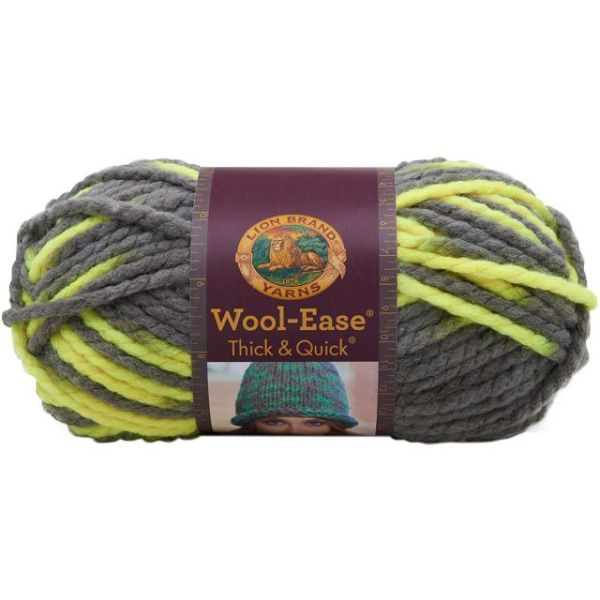 Lion Brand Wool-Ease Thick & Quick Yarn - Toucan