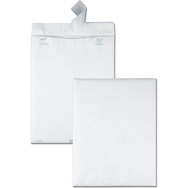 "Quality Park 12"" x 15 1/2"" Tyvek Envelopes"