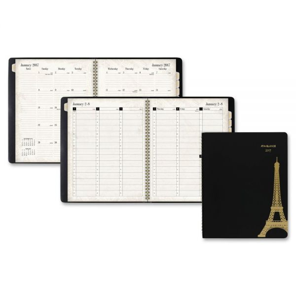 At-A-Glance Paris Weekly/Monthly Appointment Book
