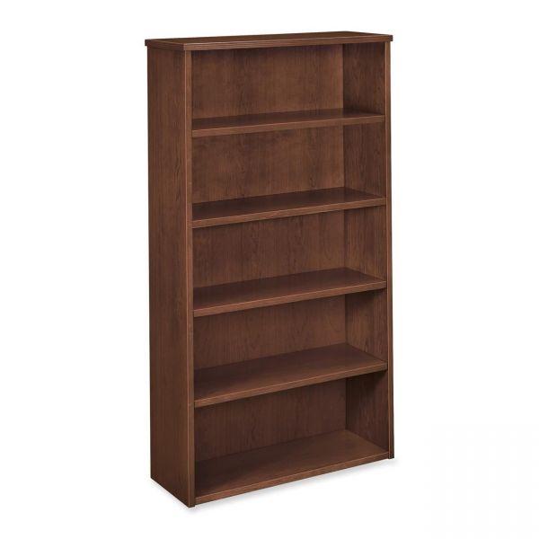 "HON Basyx 5-Shelf 66""H Bookcase"