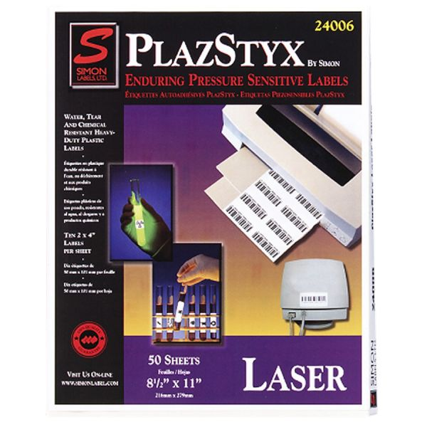 Simon PlazStyx Laser Label