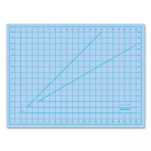 X-ACTO Self-Healing Cutting Mat, Nonslip Bottom, 1 Grid, 18 x 24, Gray