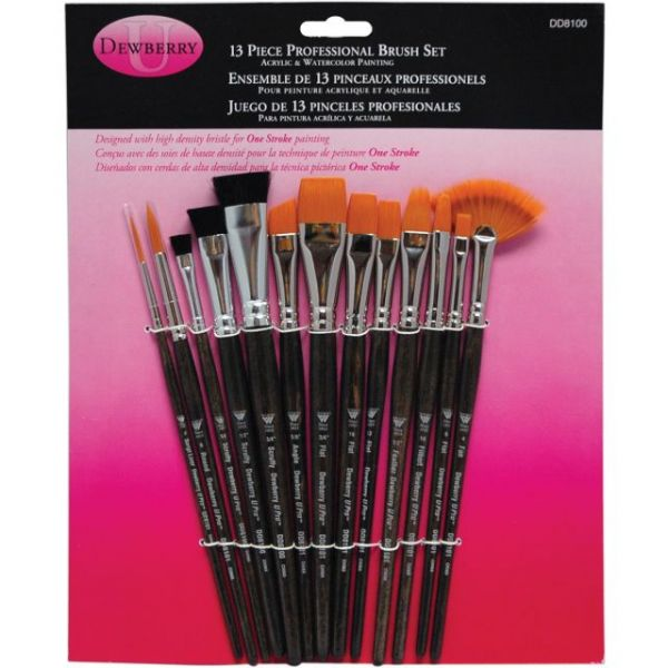 Donna Dewberry Professional Brush Set