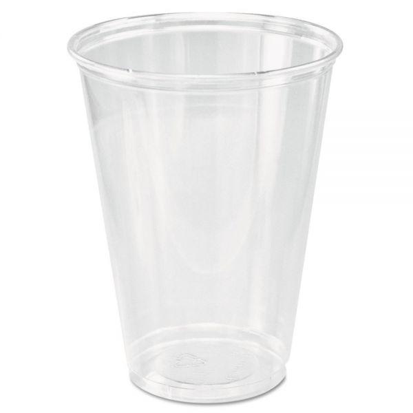 Dart Ultra Clear Cups, Tall, 10 oz, PET, 50/Bag, 1000/Carton