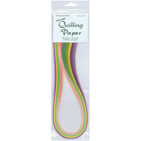"""Quilling Paper .125"""" 80/Pkg"""