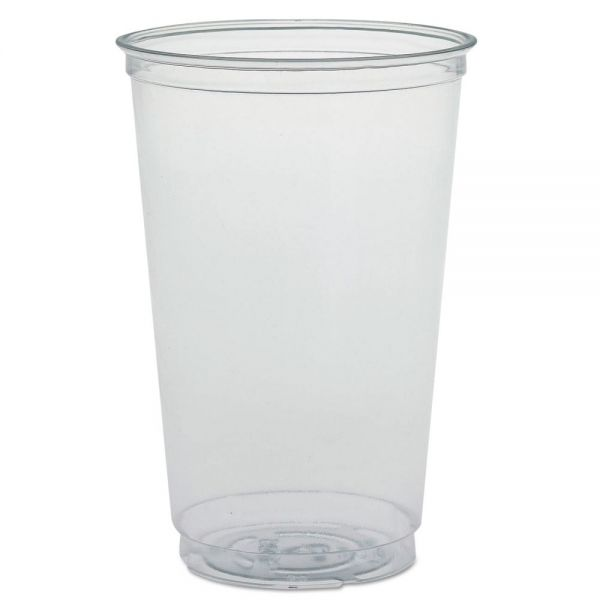 Dart Ultra Clear PETE Cold Cups, 20 oz, Clear
