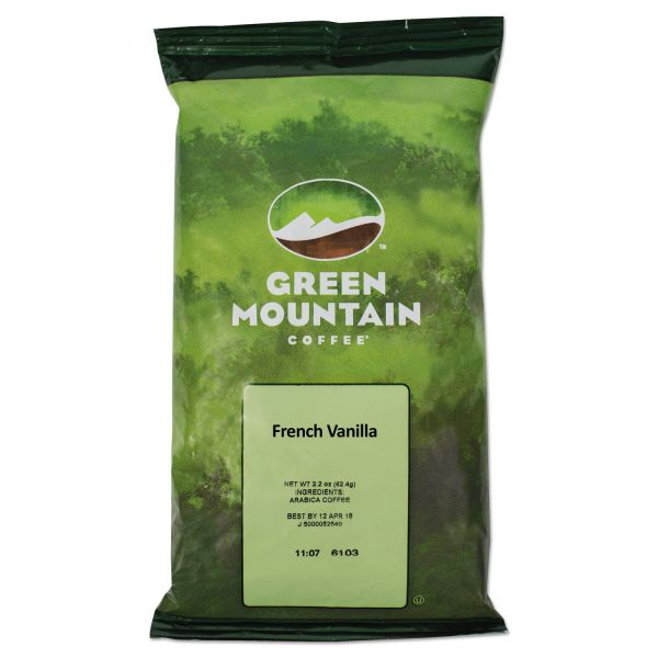Green Mountain Coffee French Vanilla Coffee Fraction Packs