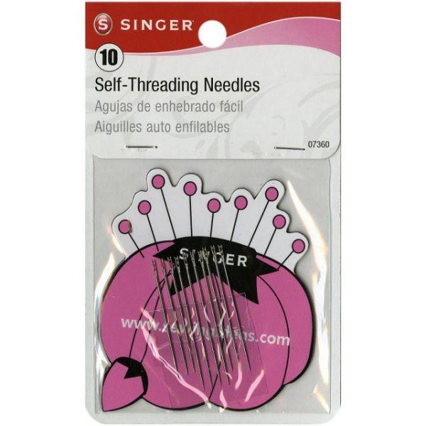 Singer Self-Threading Needles