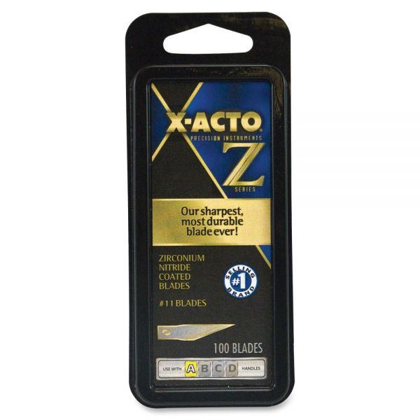 X-Acto Z-Series Knife No.11 Fine Point Blades