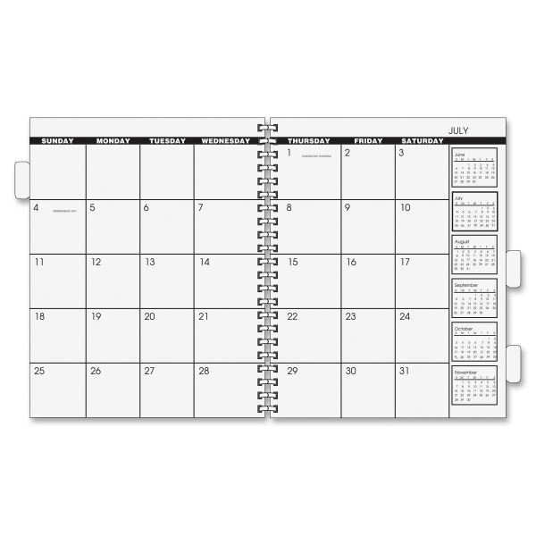 At-A-Glance 2018 Monthly Planner Refills Pages