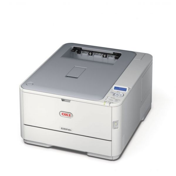 Oki C331DN LED Printer - Color - 1200 x 600 dpi Print - Plain Paper Print - Desktop