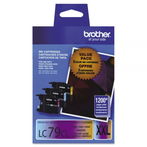 Brother LC79CL Color Super High Yield Ink Cartridges