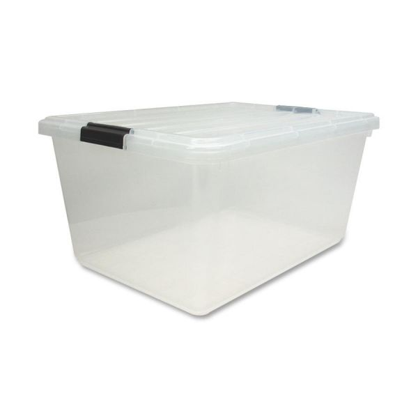 Iris Clear Storage Boxes with Lids
