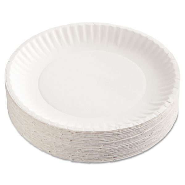 "Gold Label 9"" Coated Paper Plates"