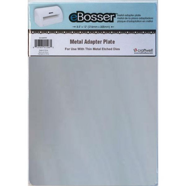 "eBosser Metal Adapter Plate 8.5""X12"""