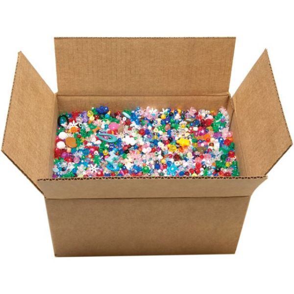 Mixed Plastic Beads 10lb