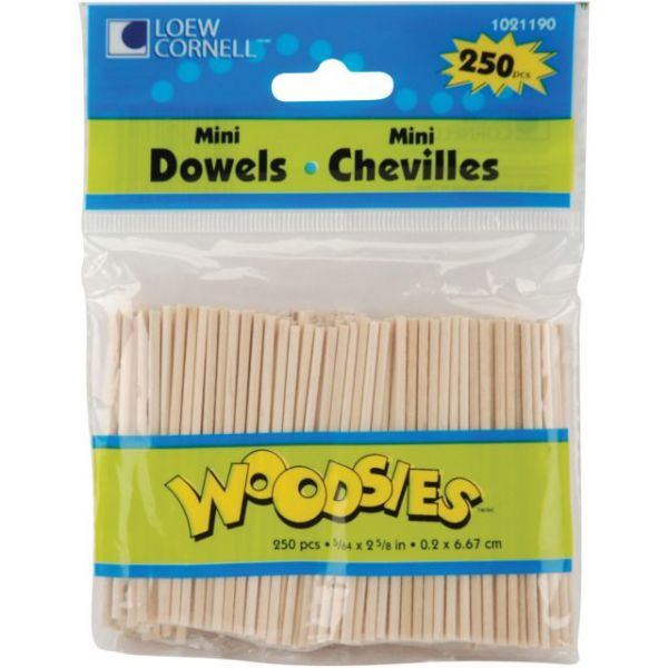 Woodsies Mini Dowels
