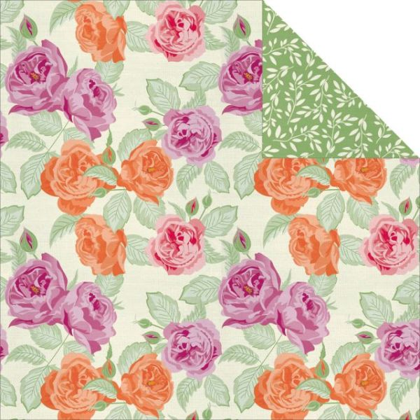 Flora Delight Double-Sided Paper