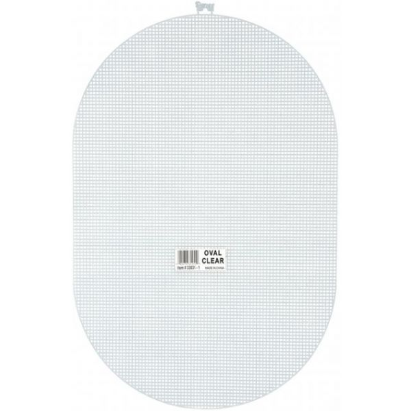 Darice Plastic Oval Canvas