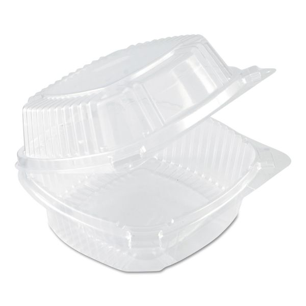 Pactiv SmartLock Plastic Clamshell 20 oz Deli Containers