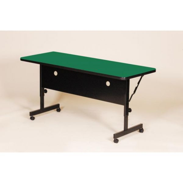 "Correll FT2460 Deluxe Flip Top Table -  High Pressure Top - 24"" x 60"""