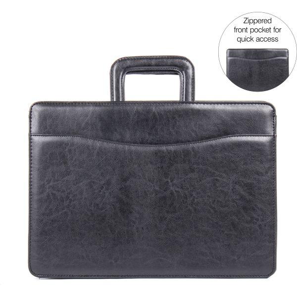 bugatti Carrying Case (Briefcase) for Document, Accessories - Black