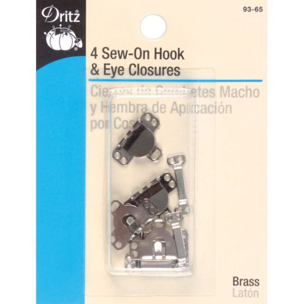 Sew-On Hooks & Eyes