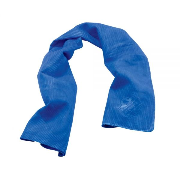 ergodyne Chill-Its Cooling Towel, Blue, One Size Fits Most