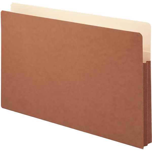 Smead 74254 File Pockets with Tyvek-Lined Gusset