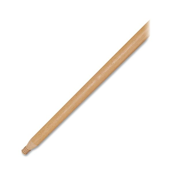 Rubbermaid Threaded Wood/Lacquered Handle