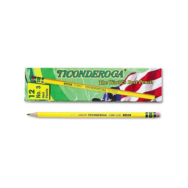 Ticonderoga No. 3 Wood Pencils