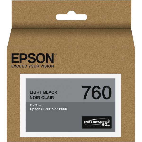 Epson 760 UltraChrome Light Black HD Ink Cartridge (T760720)