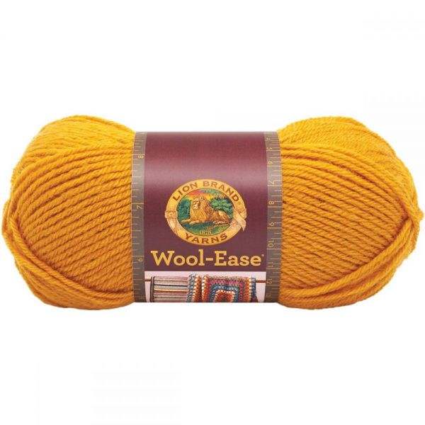 Lion Brand Wool-Ease Yarn - Gold