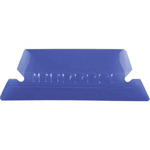 Pendaflex Hanging File Folder Tabs, 1/5 Tab, Two Inch, Violet Tab/White Insert, 25/Pack