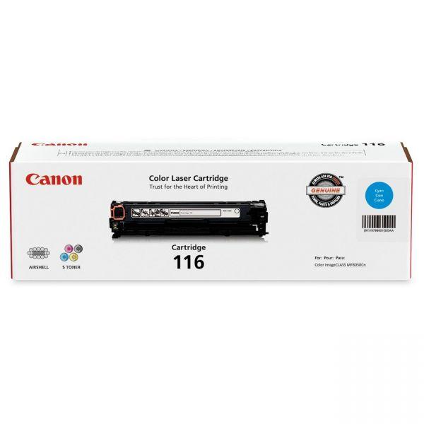 Canon 116 Cyan Toner Cartridge (CRTDG116-CY)