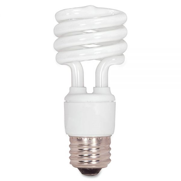 Satco T2 13-watt Mini Spiral CFL Bulb