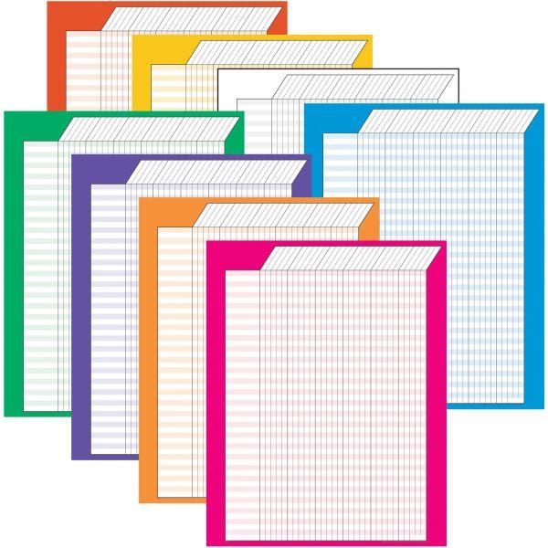 Vertical Incentive Charts – Jumbo Variety Pack