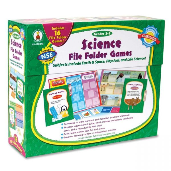 Carson-Dellosa Science File Folder Games