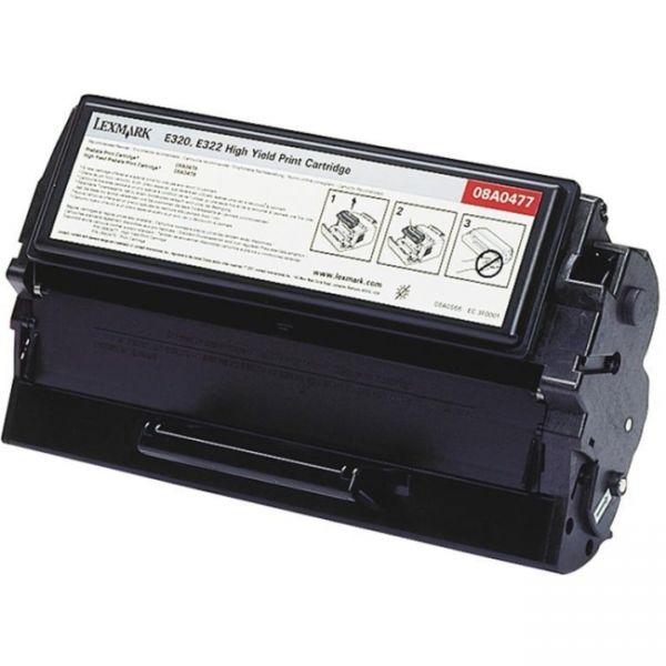 Lexmark 08A0477 Black High Yield Toner Cartridge