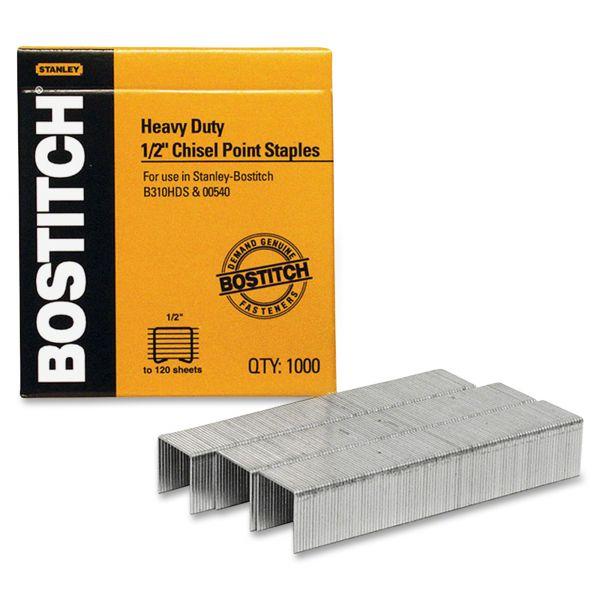 """Stanley-Bostitch Heavy-Duty 1/2"""" Staples"""