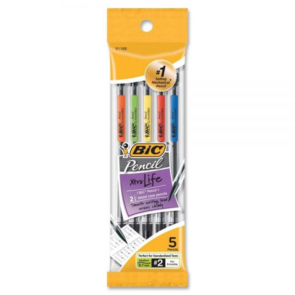BIC Xtra Life 0.7 Mechanical Pencils
