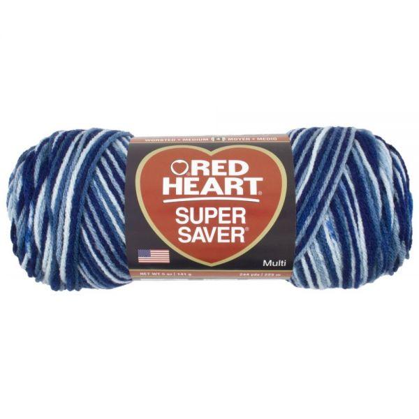 Red Heart Super Saver Yarn - Shaded Dusk