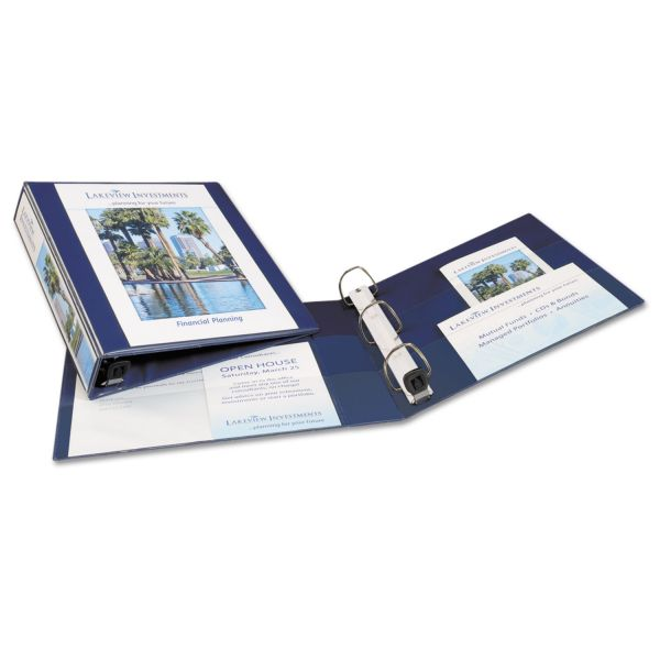 """Avery Heavy-Duty Reference 1 1/2"""" 3-Ring View Binder"""